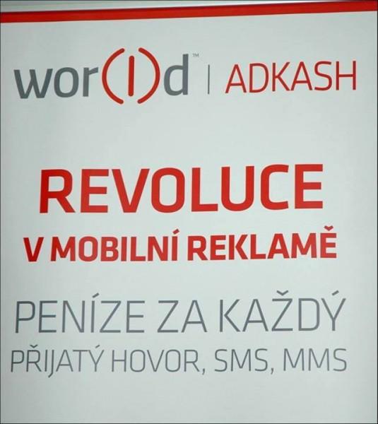 Zarábajte za každý prijatý hovor a SMS, world Adkash